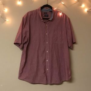 Chaps Short Sleeve Button Down